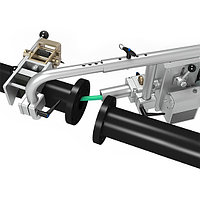 Система для дистанционного управления гибким копьем/шлангом при гидродинамической очистке труб, трубопроводов, фото 2