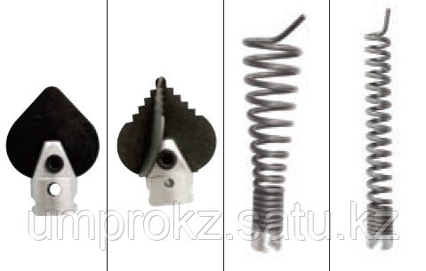 Набор насадок для спиралей Ø22 мм (4 штук)