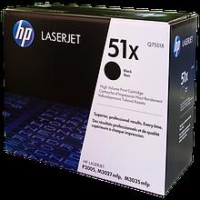 HP Q7551X Картридж лазерный черный (13000 копий) для LaserJet-M3027 - M3035 - P3005