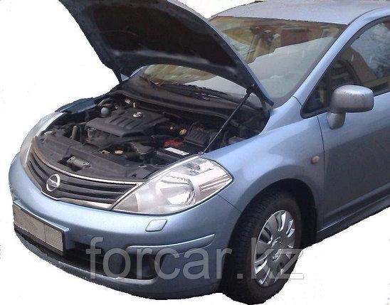 Амортизаторы (упоры) капота для Nissan Tiida, фото 2