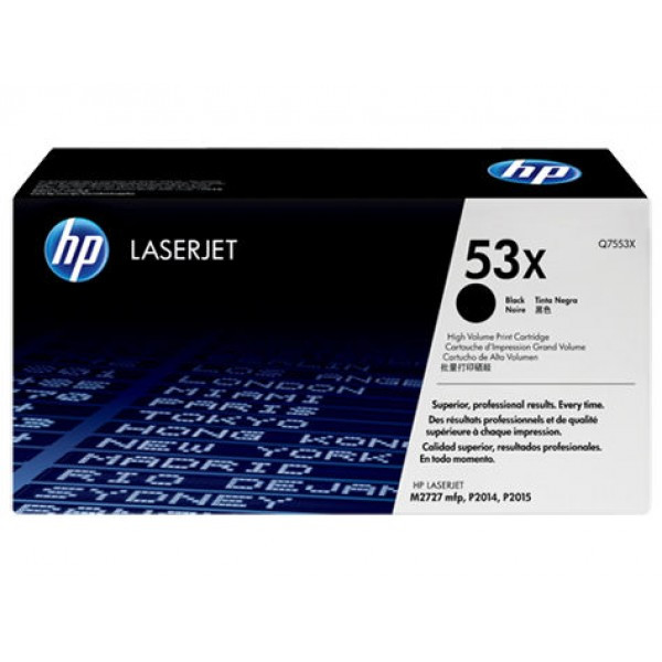 HP Q7553X Картридж лазерный На 7000 страниц HP 53X