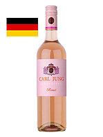 Вино безалкогольное Carl Jung Rosé розовое, полусухое 0,75л