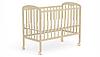Кровать детская Фея 323 колесо-качалка бежевый