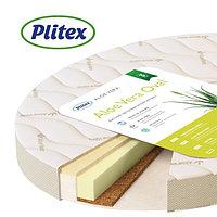 Матрац для овальной кроватки Plitex Aloe vera Oval 125*75 см, фото 1