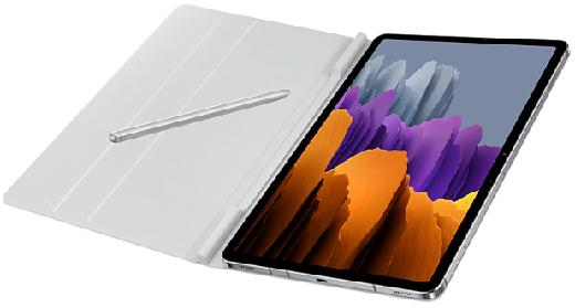 Чехол для Galaxy Tab S7 Book Cover light gray