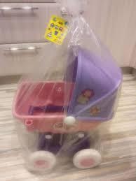 "Коляска для кукол ""Arina"" 4-х колёсная (в пакете)"