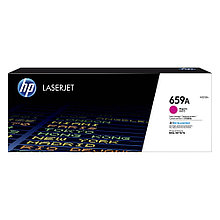 HP W2013A Картридж лазерный HP 659A, для принтеров и МФУ HP Color LaserJet Enterprise M776, M856, пурпурный
