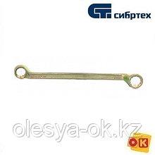Ключ накидной 19 х 22 мм, 12-гранный. СИБРТЕХ