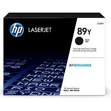 HP CF289Y Оригинальный лазерный картридж HP 89Y экстра емкости, черный
