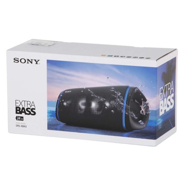 Портативная колонка Sony SRS-XB43 черный / - фото 4