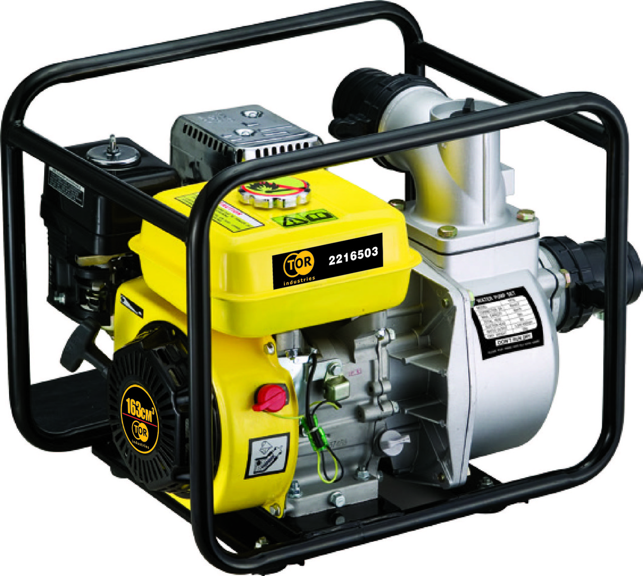 Мотопомпа бензиновая для чистой воды TOR TR30X