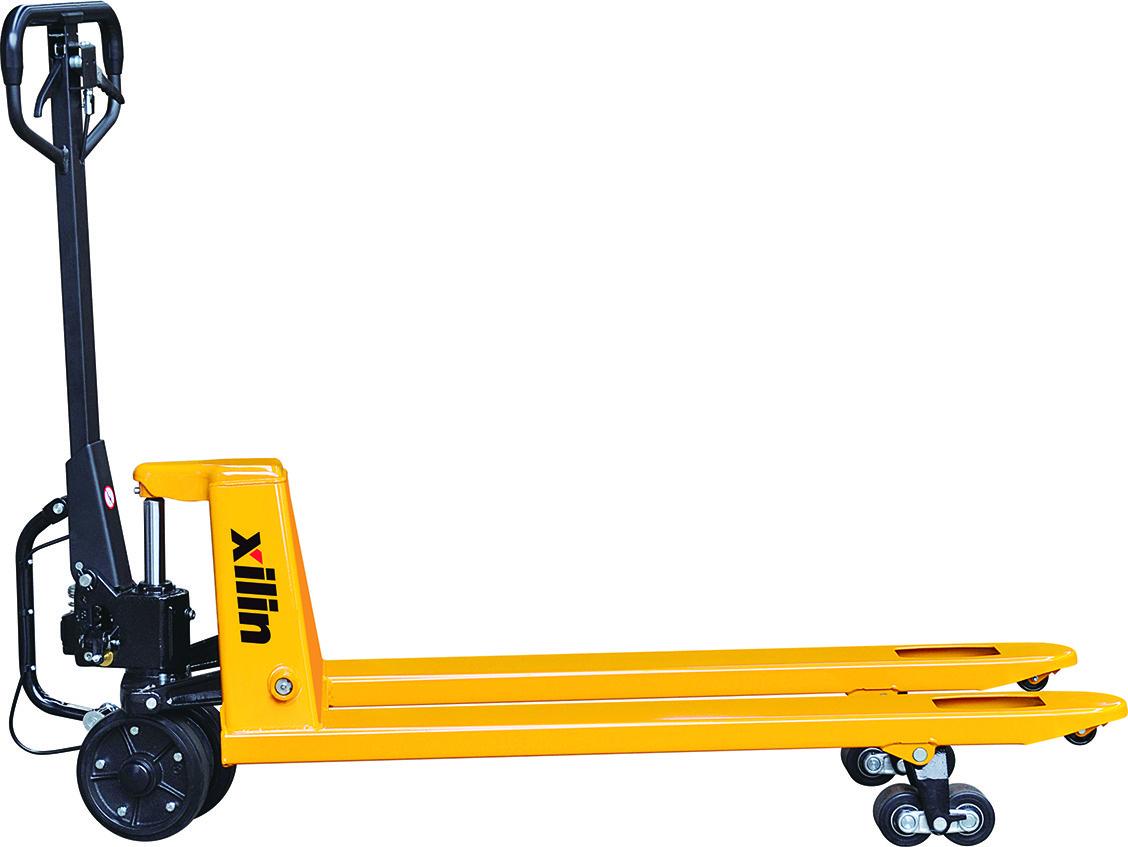 Гидравлическая тележка XILIN г/п 2500 кг BFA (полиуретан.колеса)