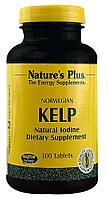 Nature's Plus, Icelandic Kelp, 300 таблеток. Норвежская бурая водоросль (iherb)