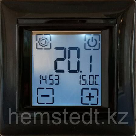 Терморегулятор SDF-421H программируемый черный, фото 2