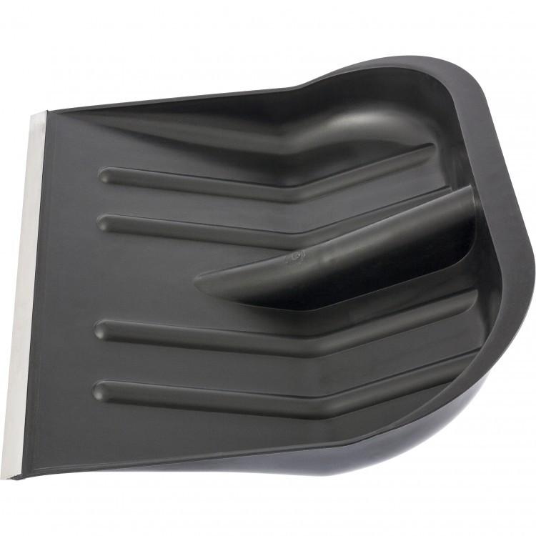 Лопата для уборки снега пластиковая, 465х415 мм, без черенка, Россия Сибртех