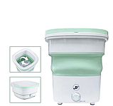 Портативная складная мини стиральная машина 1.8кг, фото 5