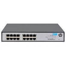HPE JH016A коммутатор неуправляемый OfficeConnect 1420 16G Layer 2 Switch (16xRJ-45 10/100/1000 ports)