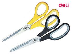 """Ножницы DELI """"Soft-touch"""", 195 мм, прорезиненные ручки, ассорти"""
