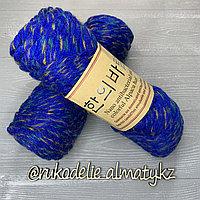 """Пряжа для ручного вязания """"NANO """", 100 гр, цвет-светло-серый синий"""