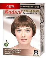 Хна для волос Radico, Индия «натуральный коричневый»