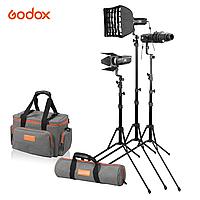 Комплект студийных осветителей Godox S30-D (фокусируемые), фото 1
