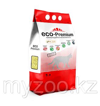 ECO-Premium Ромашка, 5 л |Эко-премиум комкующийся древесный наполнитель|