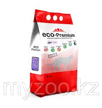 ECO-Premium Лаванда, 5 л |Эко-премиум комкующийся древесный наполнитель|