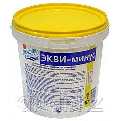 Экви-минус 1кг ведро, порошок для уменьшения уровня рН воды, упак.12
