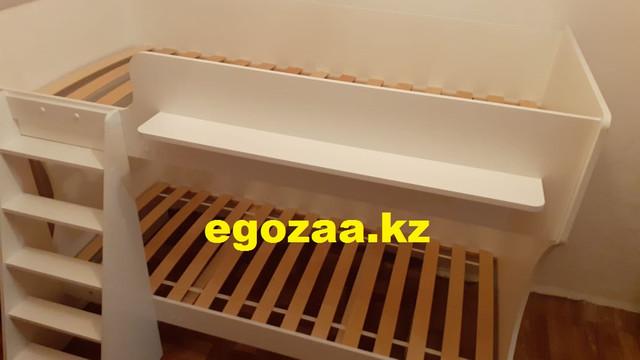 Двухъярусная кровать К432 Капризун белый