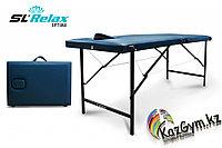 Массажный стол складной Optima SLR-7 (синий), фото 1