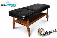Массажный стол стационарный Comfort SLR-4 (черный), фото 1