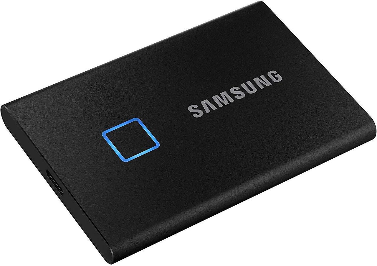 Портативный SSD Накопитель T7 Touch 500GB Black /