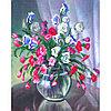 Набор для вышивания бисером 'Матренин посад' 'Цветочный менуэт', 28*34 см