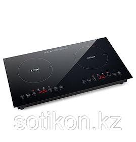 Индукционная плитка Kitfort КТ-124 черный