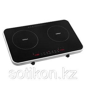 Индукционная плитка Kitfort КТ-136 черный