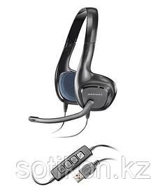 Наушники-гарнитура проводная Plantronics AUDIO 628 черный USB