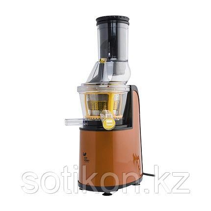 Соковыжималка шнековая Kitfort КТ-1102-1 оранжевая, фото 2