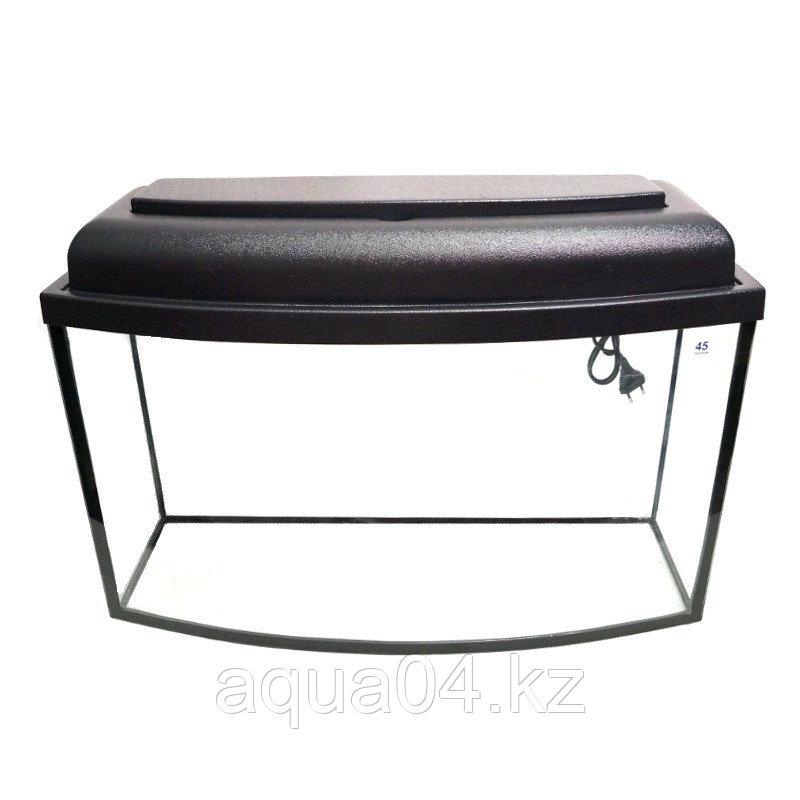 Аквариум телевизор 120 литров (гнутое стекло)