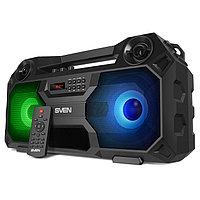 SVEN PS-520, черный, акустическая система 2.0, мощность 2x18 Вт (RMS), TWS, Bluetooth, FM, USB /
