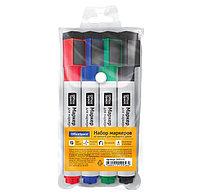 Набор маркеров для доски OfficeSpace, 4 цвета