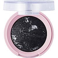 Тени Star Baked Eye Shadow, PRETTY BY FLOLMAR 3,3 гр, 06 Black Glitters