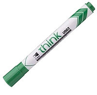 """Маркер для доски DELI """"EU00250"""" скошенный наконечник, 2-5 мм, зеленый"""