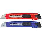 Нож канцелярский SILWERHOF, 18 мм ассорти