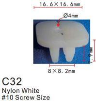 Forsage Клипса для крепления внутренней обшивки а/м Мазда пластиковая (100шт/уп.) Forsage клипса F-C32(Mazda)