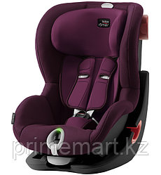 Автокресло Britax Römer King II LS Black Series Burgundy Red Trendline