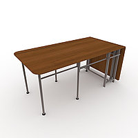 Обеденный стол Попов Стандарт-2, плюс 1850*1000 орех