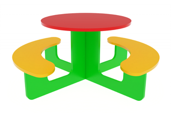 Столик круглый