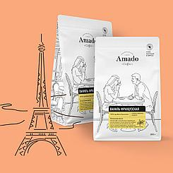 Французская ваниль. Кофе в зернах 200 гр