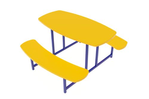 Столик овальный