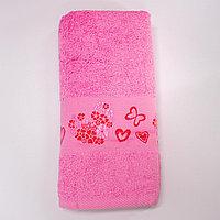 Полотенце 70х140 GRANCE ALTINBASAK - Розовый 2